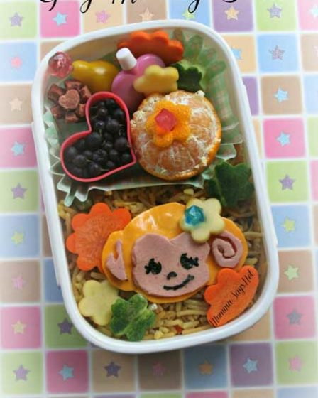 Girly Monkey Bento
