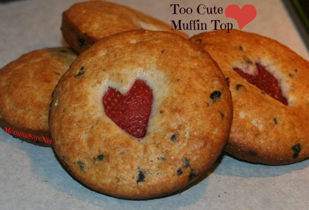 Heart Muffin Tops