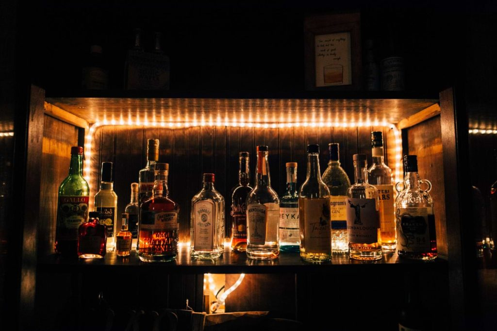 Bourbon cocktail drinks