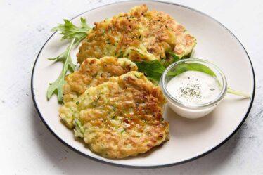 Cucumber Oats Pancake
